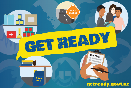 Get Ready for an emergency at getready.govt.nz