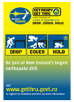 ShakeOut Drop Cover Hold Poster
