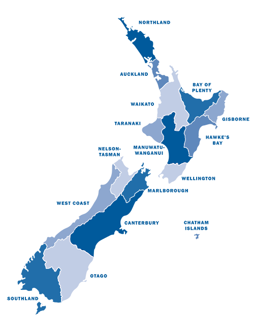 Northland New Zealand Map.Tsunami Evacuation Zones Ministry Of Civil Defence And Emergency