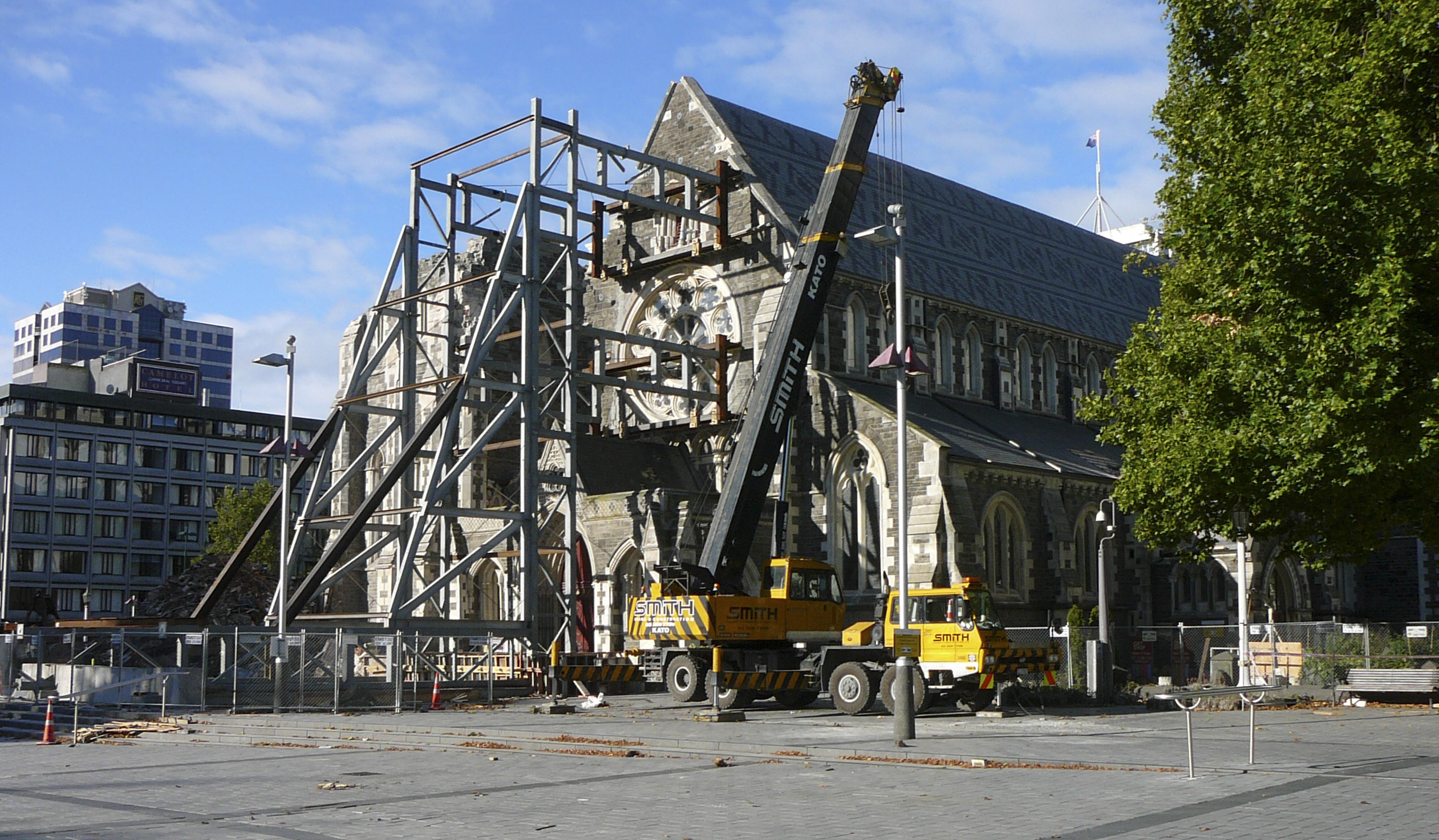 Christchurch Picture: Earthquakes » Ministry Of Civil Defence And Emergency